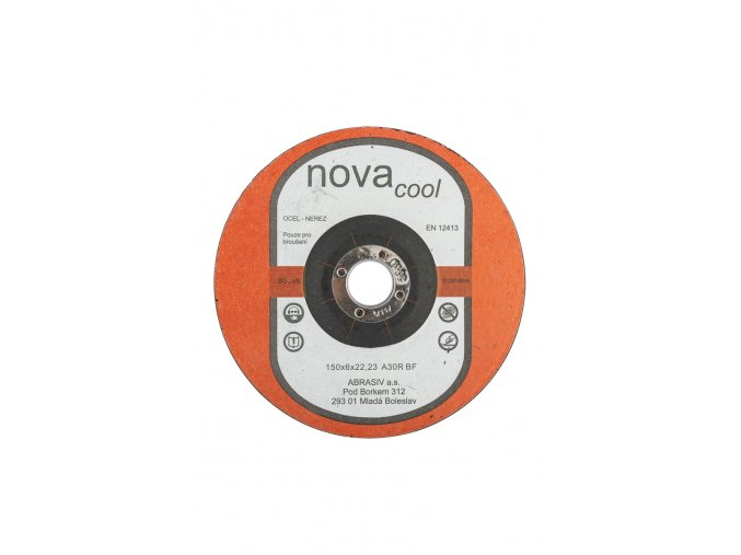 Brusný kotouč 115x6x22,2 A30R NOVAcool