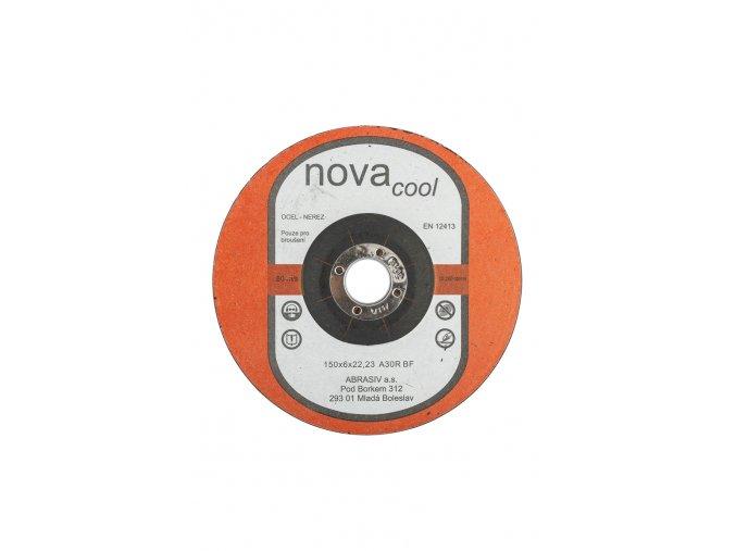 Brusný kotouč 150x6x22,2 A30R NOVAcool