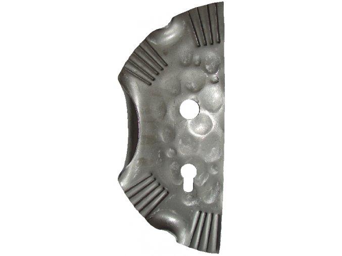 Zámková kapsa levá 295x130 mm, rozteč 72 mm