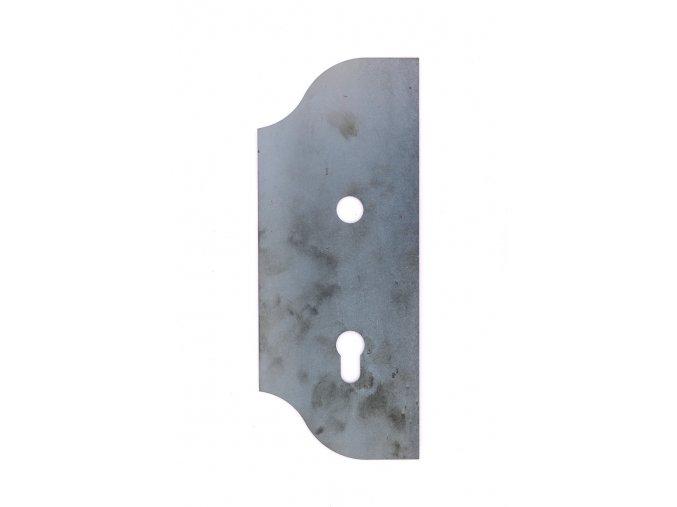 Zámková kapsa levá 265x110 mm, rozteč 90 mm