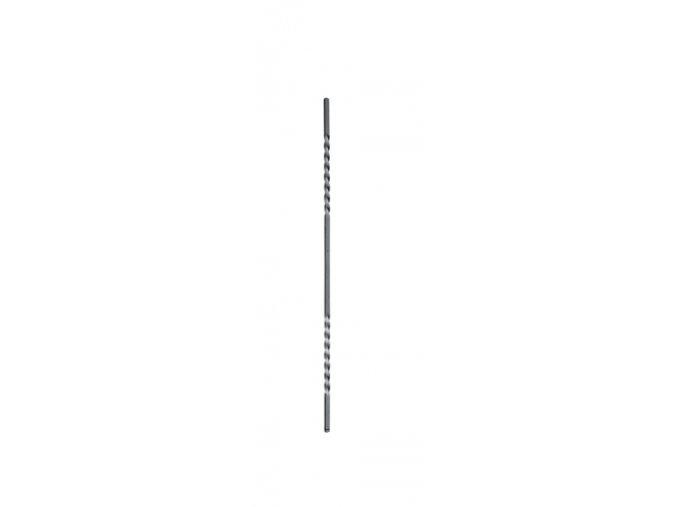 Tyč s dvěma torzíry 14x14 mm, velikost 950 mm