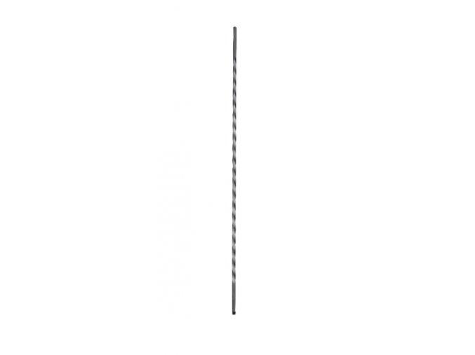 Tyč s torzírem po celé délce 14x14 mm, velikost 950 mm