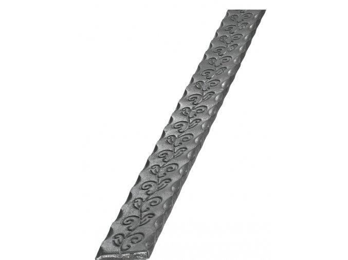 Kovaná pásovina ozdobná 40x8 mm