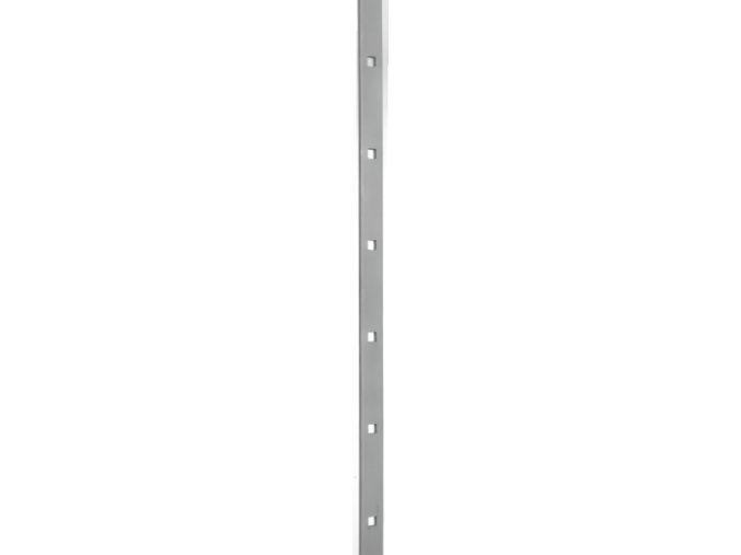 Probíjené tyče 30x8  mm, otvor 14 mm, rozteč 125  mm