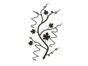 Kovaná větev na tři lahve vína  700x400 mm
