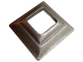 Krytka kovaná  s otvorem 12,5 mm, 40x40x20 mm