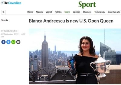 Jak vítězka US Open 2019 dostala náš skleněný výrobek