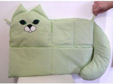 kapsář kočka zelený