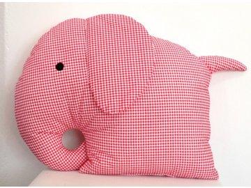 polštář slon červený