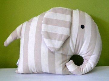 polštář slon béžový