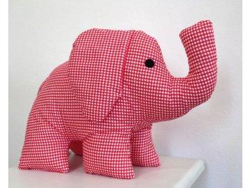 slon červený