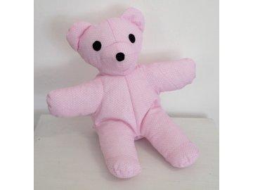 maňásek medvídek růžový