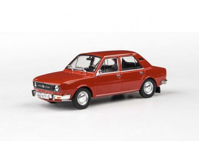 Model Škoda 105 L 1:43 (Červená Paprika) - ABREX