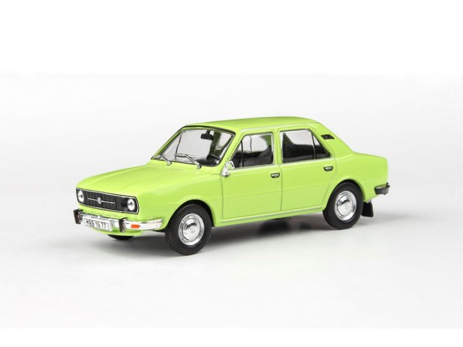 Model Škoda 105 L 1:43 (Zelená Lipová) - ABREX