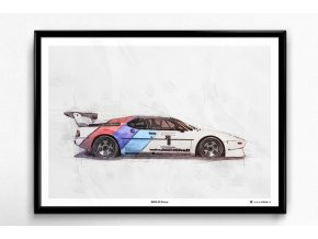 BMW M1 Procar nahled plakat1