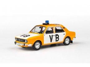 Model Škoda 105 L Veřejná Bezpečnost 1:43 - ABREX