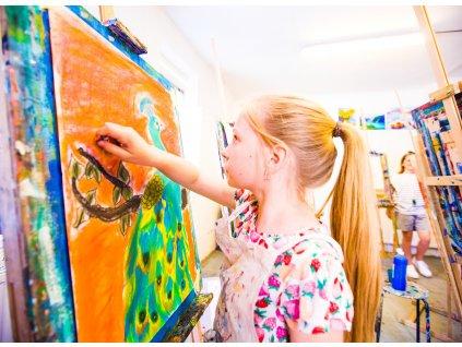 Kurz kresby a malby pro děti
