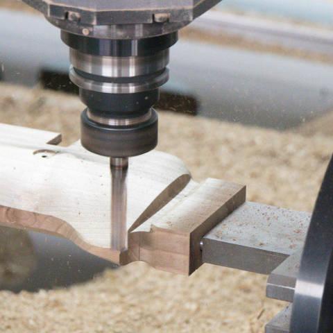 CNC obrábění dřeva