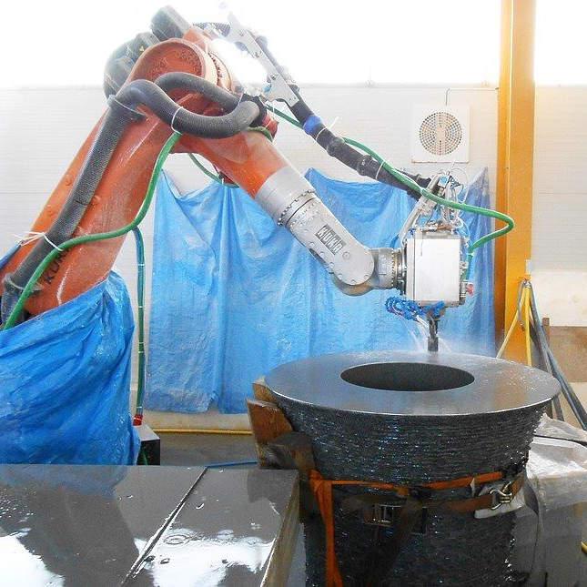 Obrábění robotem