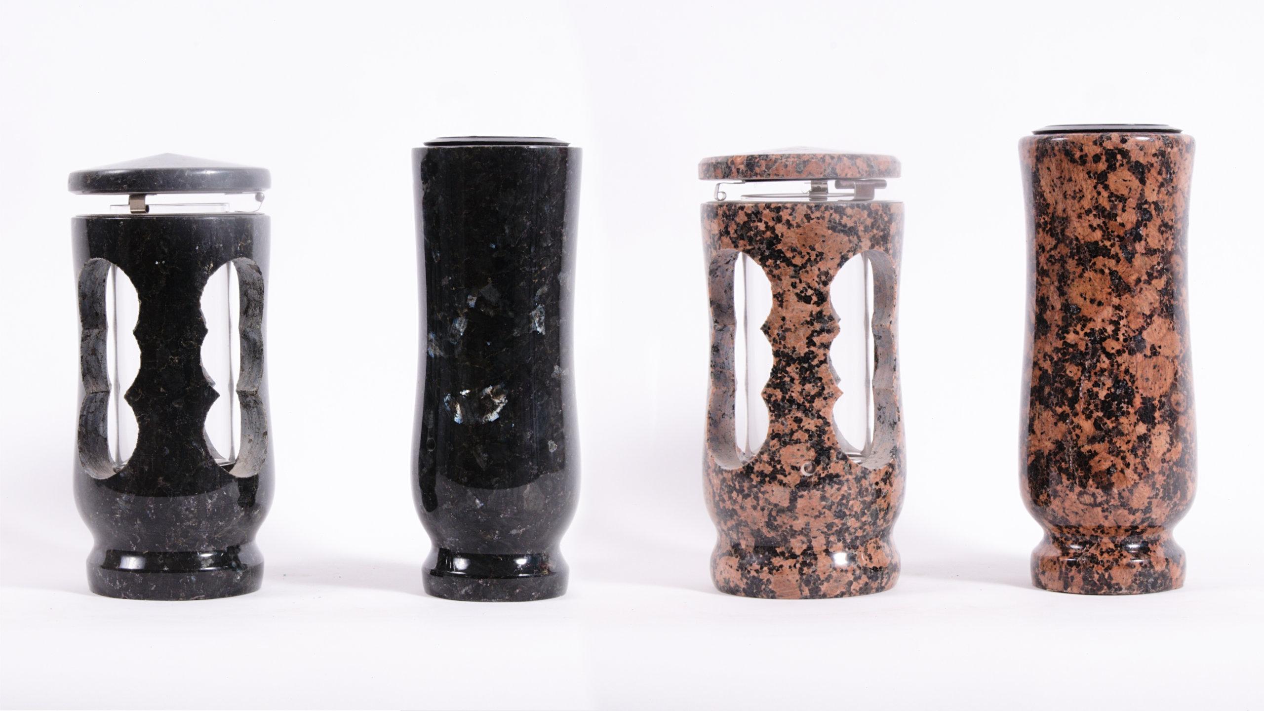 vázy, urny, svítilny, mísy