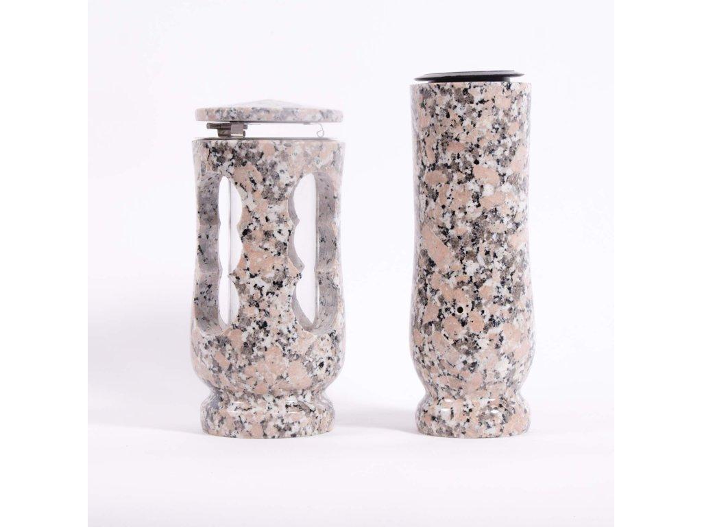 Váza a svítilna - Liberecká žula (S2, V2)