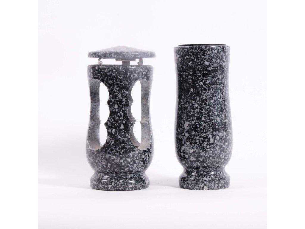 Váza a svítilna - Rožanská žula (S2, V2)