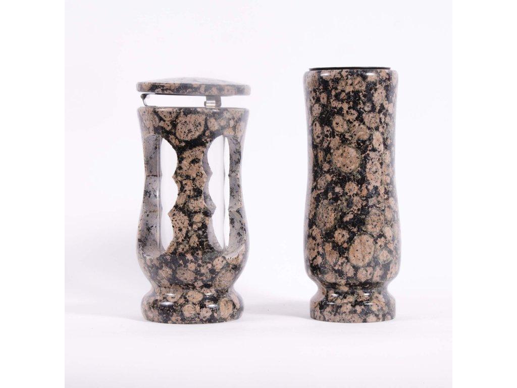 Váza a svítilna - Baltic brown (S2, V2)