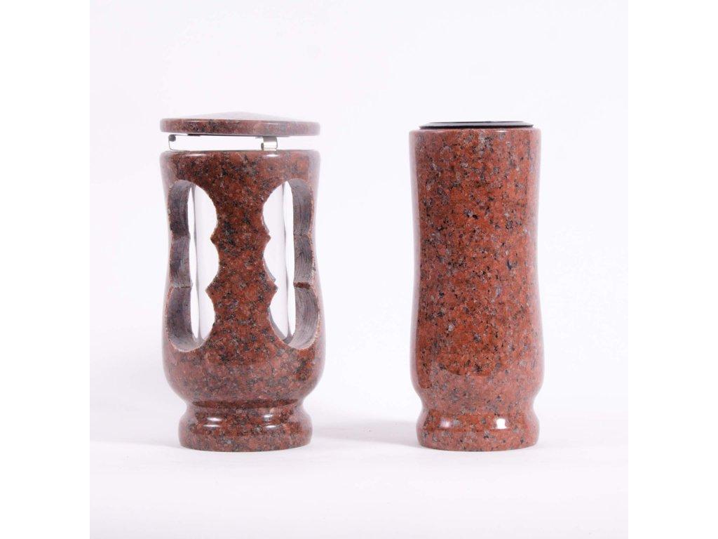 Váza a svítilna - African red (S2, V2)