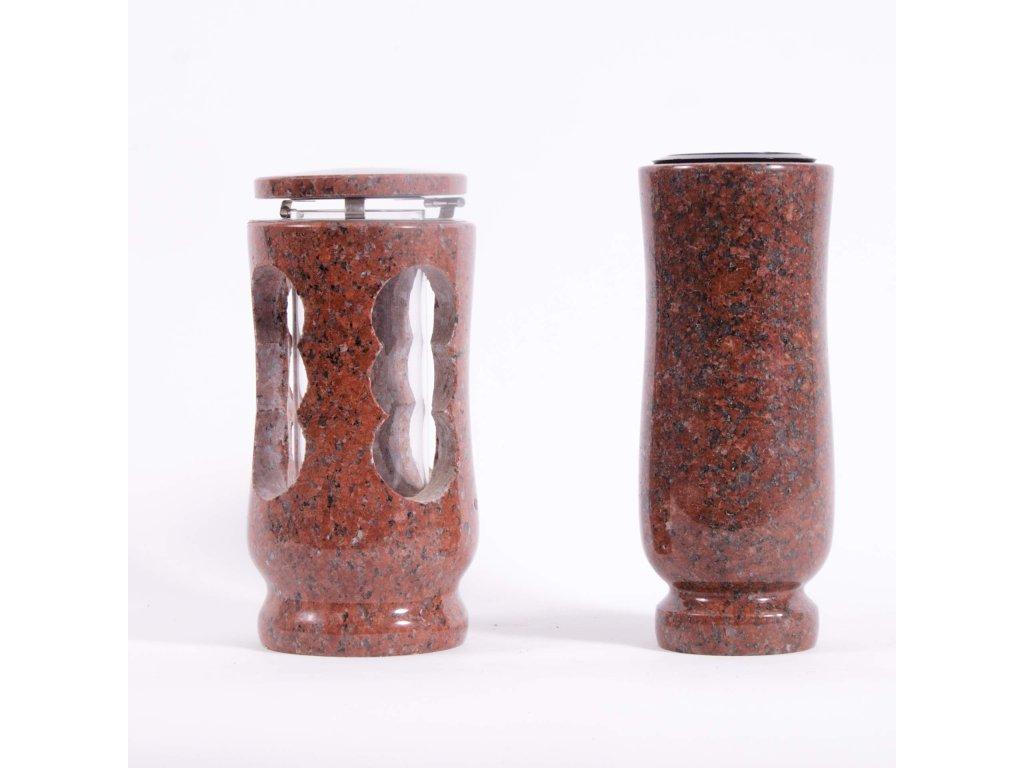 Váza a svítilna - Carmen red (S2, V2)