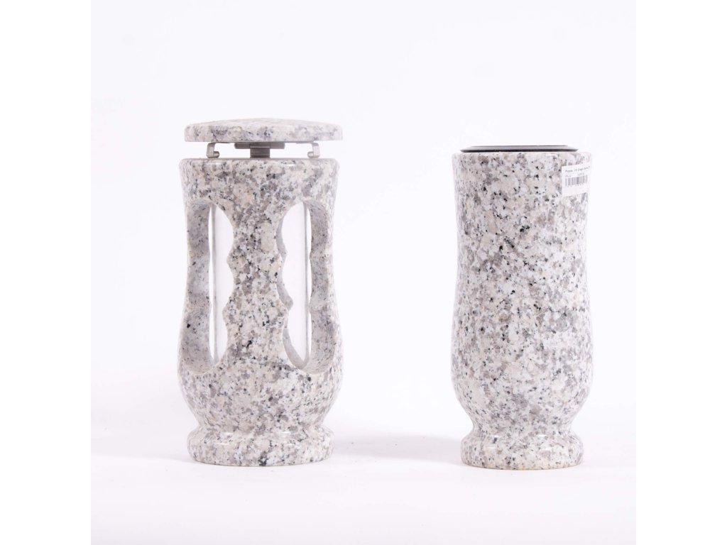 Váza a svítilna - Grigio sardo (S2, V2) menší