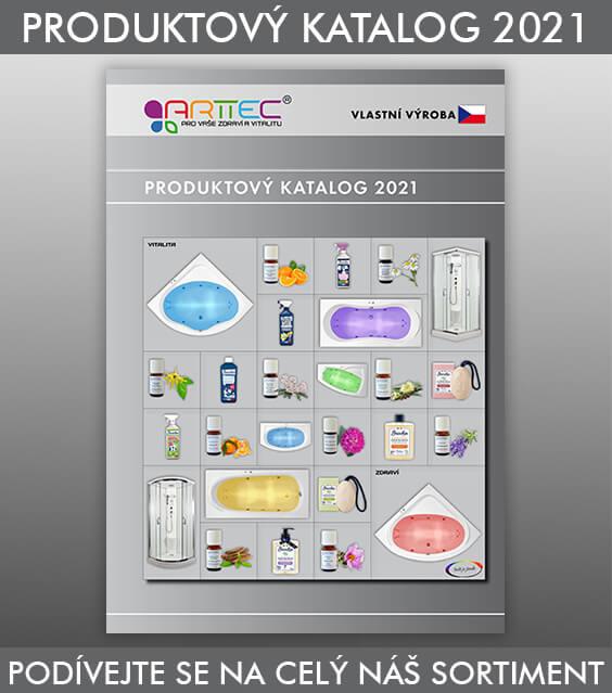 Produktový katalog sprchové kouty, boxy, vany, vířivé, masážní, arttec