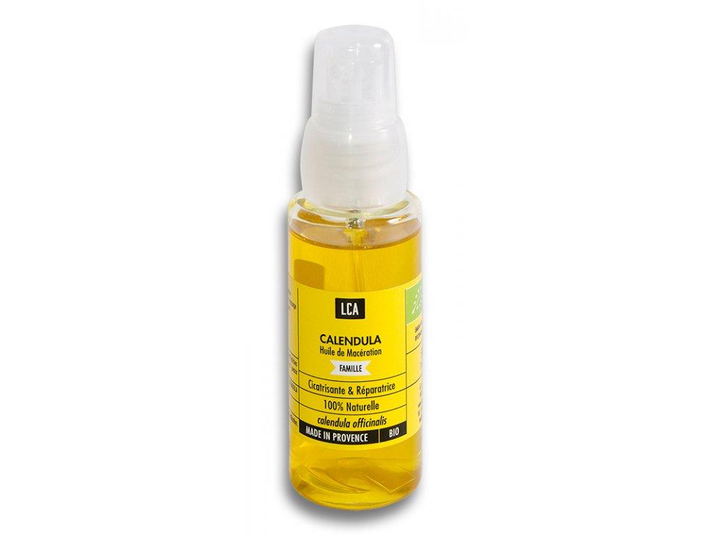 NAT00058 Organický olej Měsíček lékařský