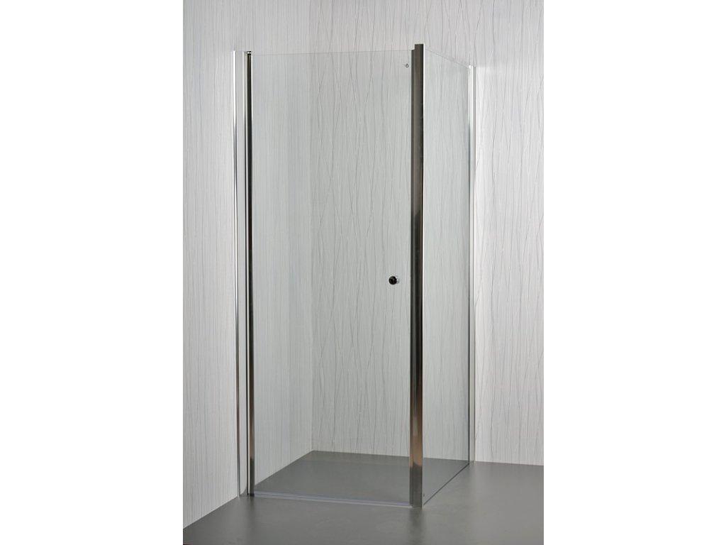 ARTTEC MOON A12 - Sprchový kout clear - 75 - 80 x 76,5 - 78 x 195 cm