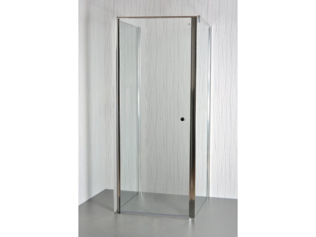 ARTTEC MOON B4 - Sprchový kout nástěnný clear 85 - 90 x 86,5 - 88 x 195 cm