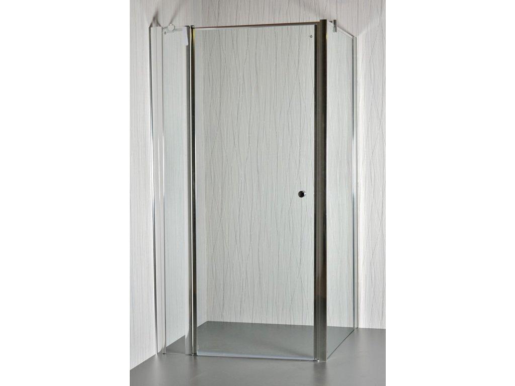 ARTTEC MOON D23 - Sprchový kout clear - 81 - 86 x 76,5 - 78 x 195 cm