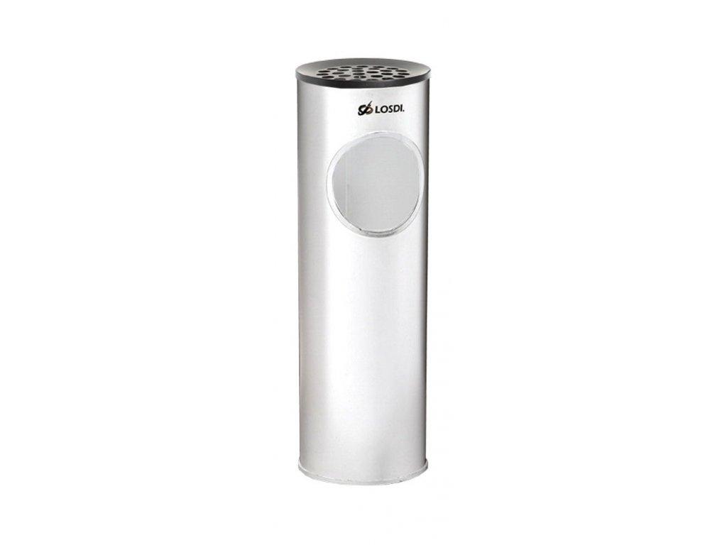 MP-0558-BL Odpadkový koš bílý