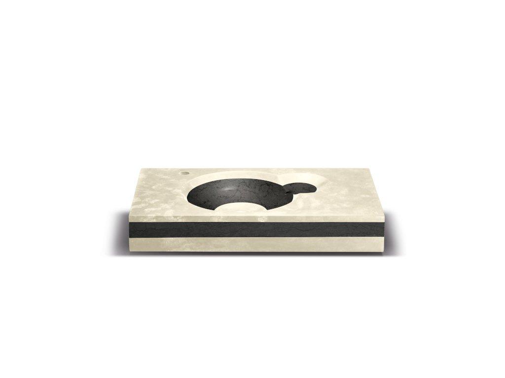 ORION - umyvadlo 800x450x100 mm
