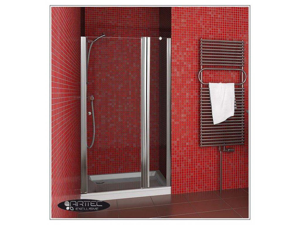 ARTTEC P-20 clear NEW - ke sprchovým dveřím MOON, SALOON-rozšíření o 16cm