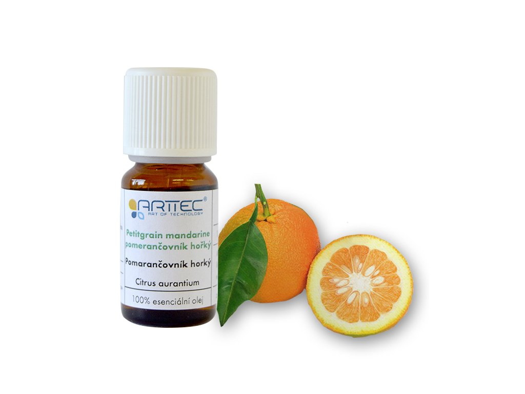 Petitgrain mandarine - pomerančovník hořký (Citrus reticulata), Pomarančovník horký