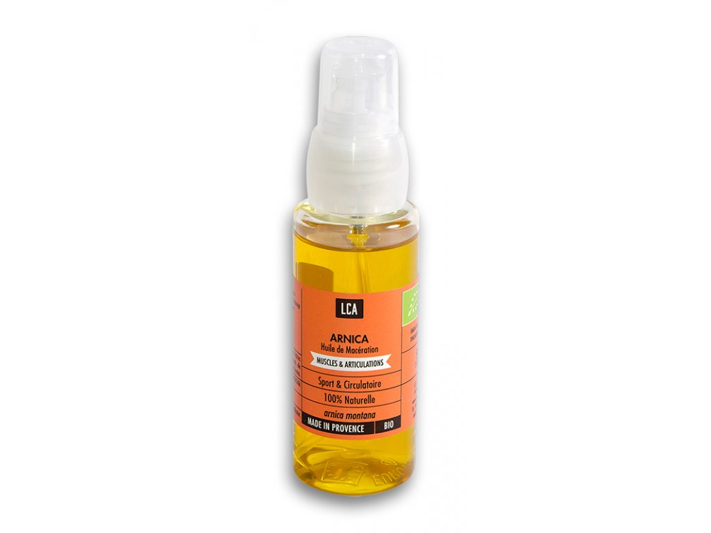 NAT00057 Organický olej Arnika