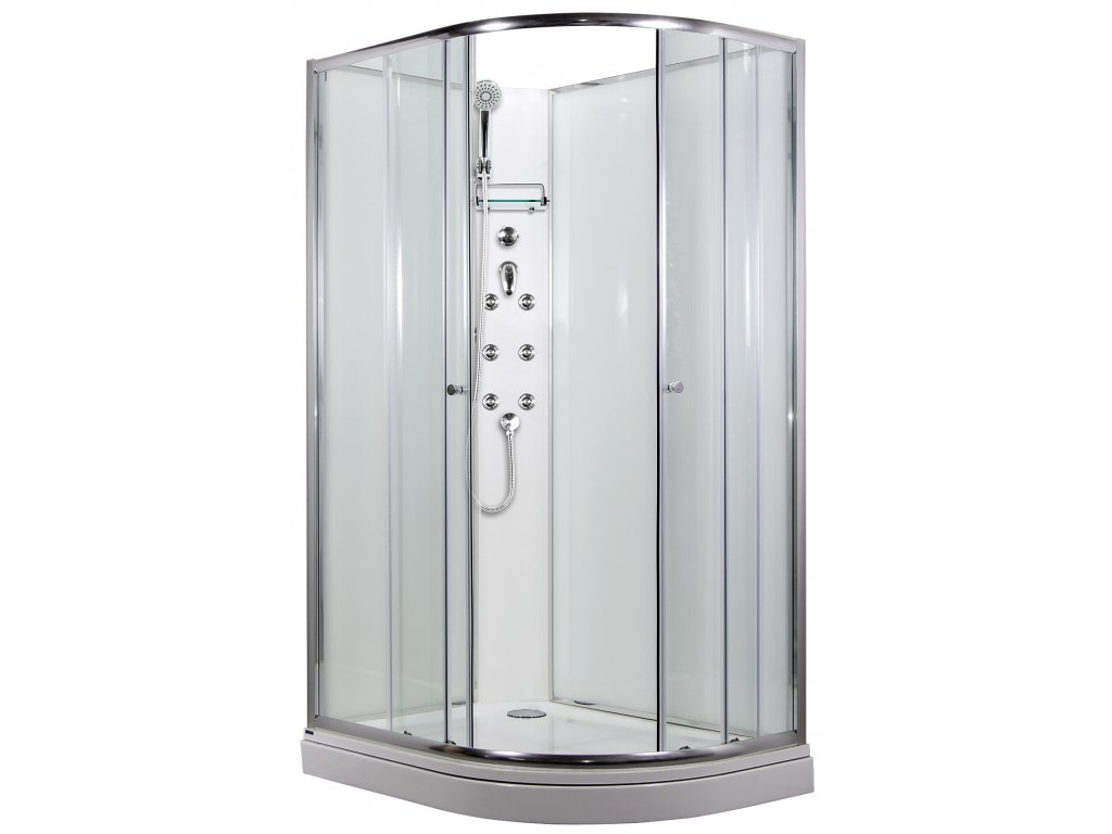 SIRIUS sprchový masážní box model 4 Levý