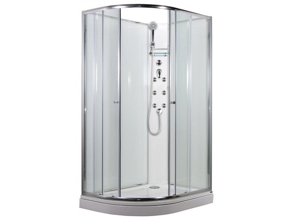 SIRIUS sprchový masážní box model 4 Pravý