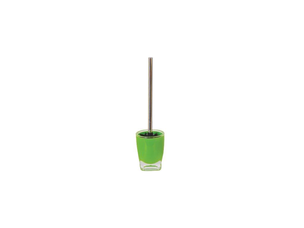 WC štětka - TAHITI - plast - green