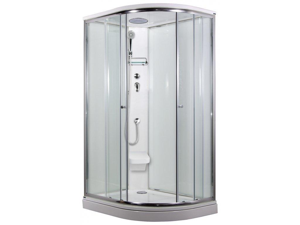 SIRIUS sprchový box model 2 Strop sedátko Levý