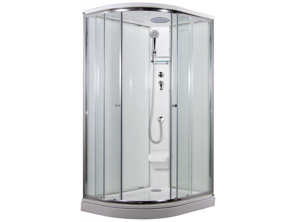 SIRIUS sprchový box model 2 Strop sedátko Pravý