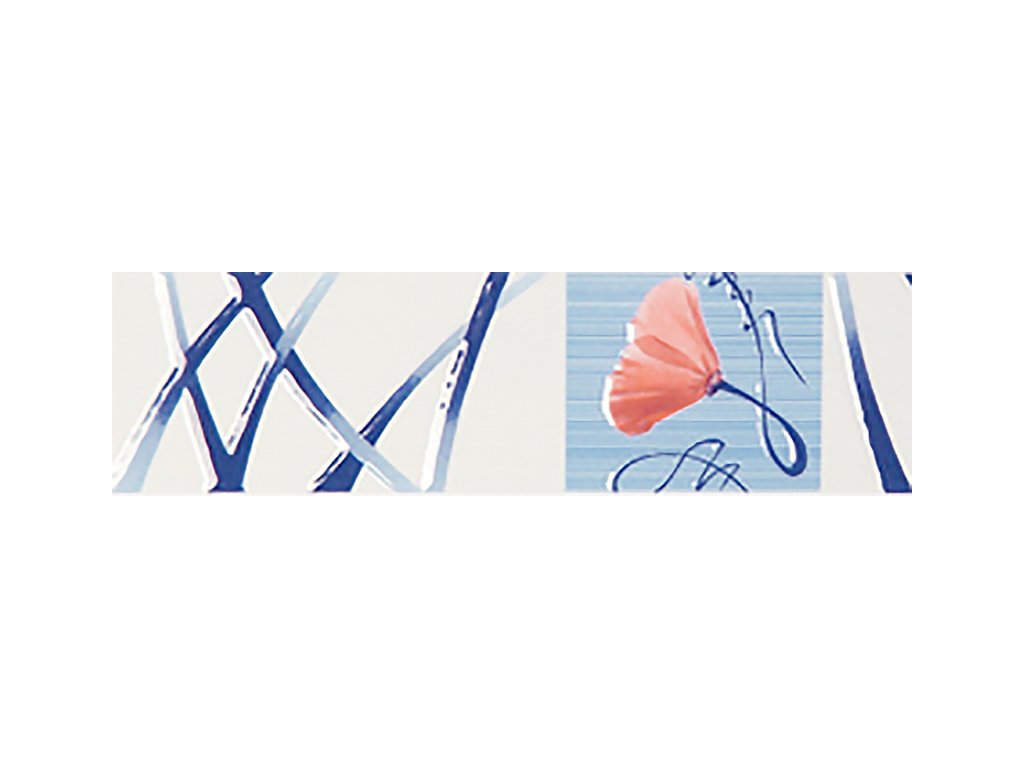 YUK00031 efes blue listello 7x25 cm