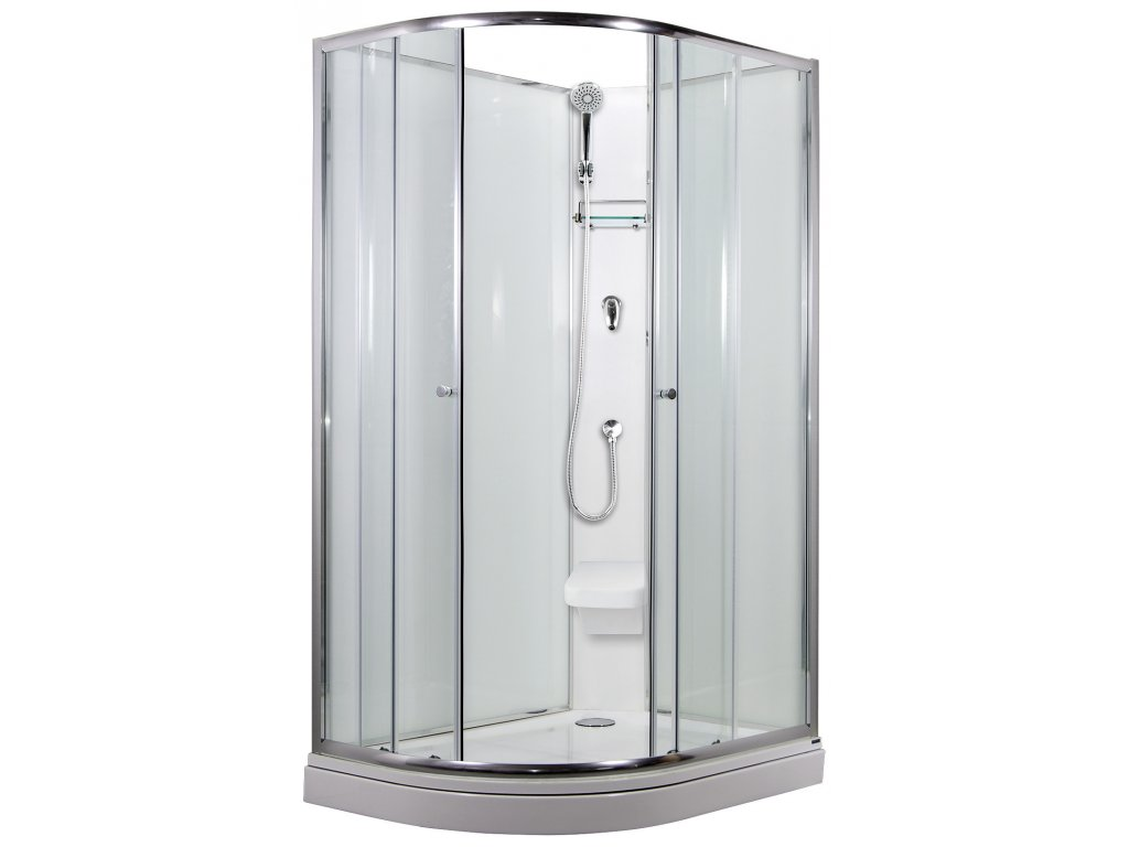 SIRIUS sprchový box model 2 sedátko Pravý