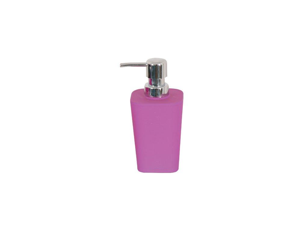 Dávkovač mýdla - MONACO - plastic + rubber - purple