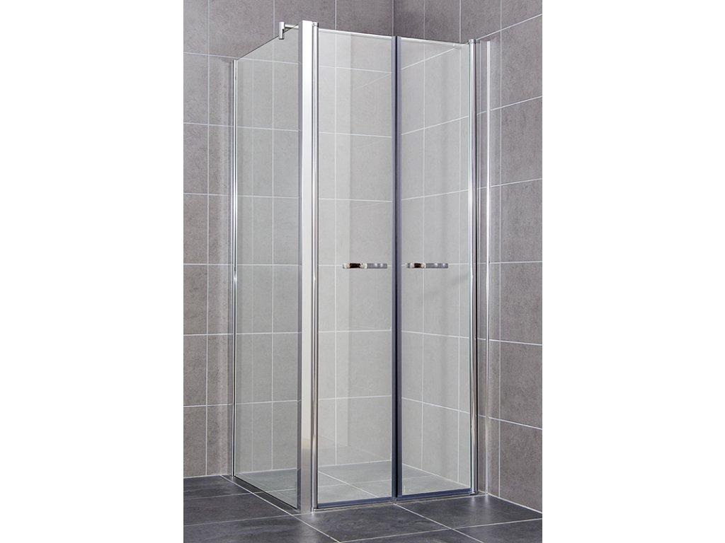 COMFORT A10- Sprchový kout grape 91 - 96 x 86,5 - 89 x 195 cm, dvoukřídlé dveře