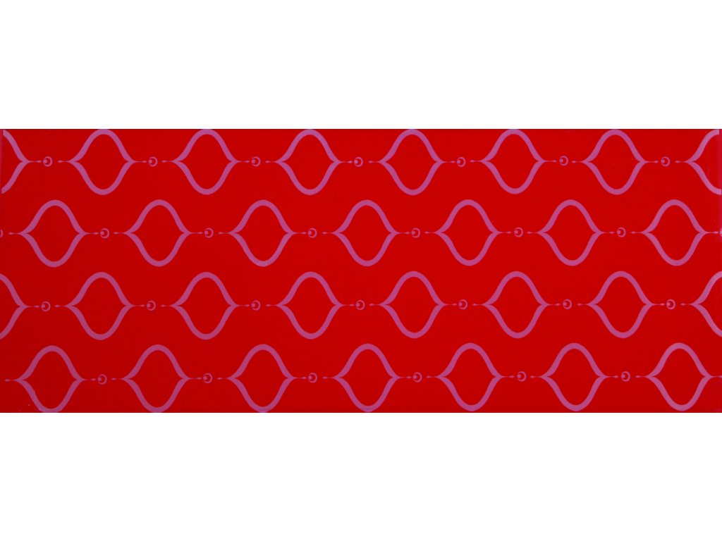 YUK00017 MADALYON RED DECOR 20X50